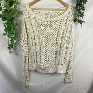 4/$25 Abercrombie loose knit sweater